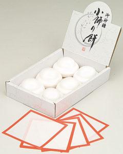 小飾り餅(砂糖)6組入